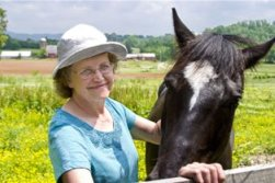 Gail with horse3