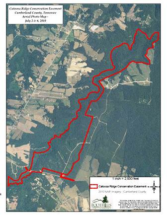 CatoosaRidgeEasement_AerialPhotoMap 2