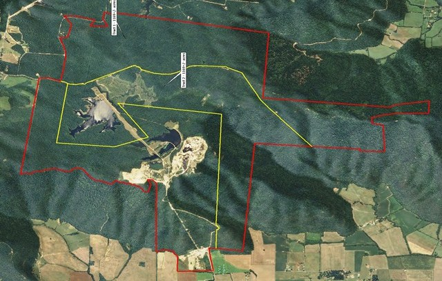 Pull Tight and Wild Boar_Aerial Map W Tracts 2